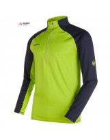 Jersey Mammut ATACAZO ZIP Hombre Sprout-Marine