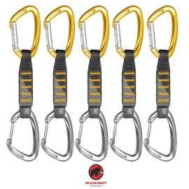 Pack 5 Express Mammut 5er Pack Crag Express Set Straight-Wire Gate 10 cm