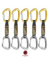 Pack 5 Cintas Mammut 5er Pack Crag Express Set Gate-Wire