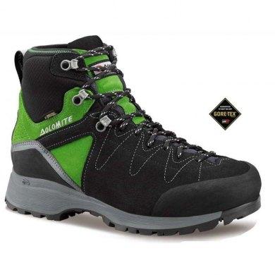 Dolomite STEINBOCK HIKE GTX Negro-verde - Botas de Trekking Gore Tex - STEINBOCK HIKE NEGRO VERDE