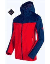 Chaqueta Gore-Tex Mammut CRATER HS HOODED Hombre Spicy-Orion