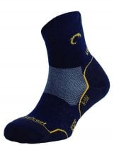 Calcetines Trekking Lurbel CAMINO Navy Blue-Yellow