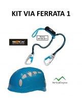 KIT FERRATA 1 - Disipador + Casco Azul