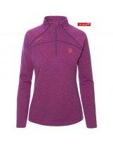 Camiseta Tecnica Ternua LUCILLA 1/2 Zip Violet