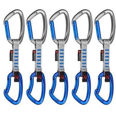 Pack 5 Cintas Mammut 5er Pack Crag Express Set Gate-Wire - 5ER PACK CRAG INDICATOR EXP (1)