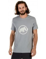 Camiseta Mammut LOGO Granite-White MC
