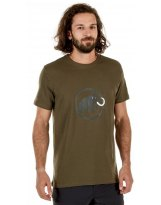 Camiseta Mammut LOGO Iguana Dark-Iguana MC