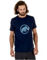 Camiseta Mammut LOGO Marine Cloud MC