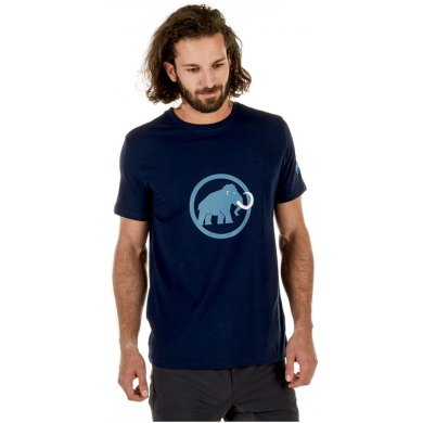 Camiseta Mammut LOGO Marine Cloud MC - MAMMUT LOGO ME MARINE CLOUD MC(1)