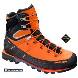 Botas Alpinismo Mammut KENTO HIGH GTX Sunrise-Black