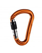 Mosqueton Mammut WALL HMS SCREW Gate-Orange
