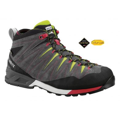 Botas Trekking Dolomite CRODAROSSA MID GTX Asphalt Grey-Green Shoot - CRODAROSSA MID GTX ALPH-GR(1)