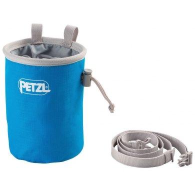 Bolsa de Magnesio Petzl Bandi Azul Metilo - PETZL BANDI AZUL METILO (1)