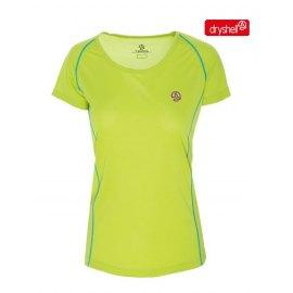 Camiseta Tecnica Mujer Ternua INTUM Green Lime MC