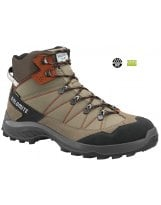 Botas de Senderismo Dolomite TOVEL WP Taupe Grey-Rusty Red