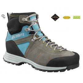 Botas Dolomite Trekking Mujer  | Dolomite STEINBOCK HIKE GTX 1.5 WMN Pewter Grey-Ato