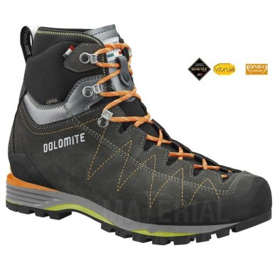 Botas de Alpinismo Dolomite TORQ GTX 2.0 Anthracite-Bright Orange - TORQ GTX 2.0 ANTHRACITE (1)