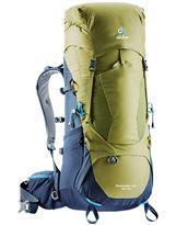 Mochila Trekking Deuter AIRCONTACT LITE 40+10 Moss-Navy