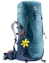 Mochila Trekking Mujer Deuter AIRCONTACT LITE 45+10 SL Arctic-Navy
