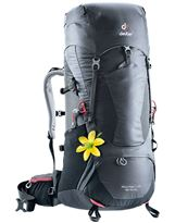 Mochila Trekking Mujer Deuter AIRCONTACT LITE 45+10 SL Graphite-Black