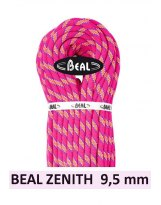 BEAL ZENITH 9.5mm 80 metros - Cuerda de escalada