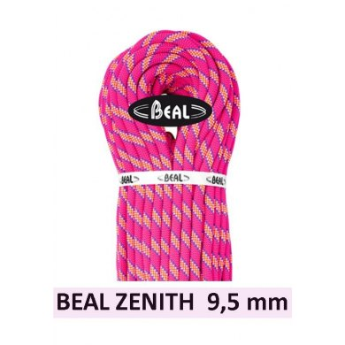 BEAL ZENITH 9.5mm 80 metros - Cuerda de escalada - CUERDA ZENITH