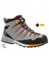 Botas Trekking Mujer Dolomite CRODAROSSA MID GTX Wmns CRODAROSSA MID GTX PEWTER-G-PURPLE