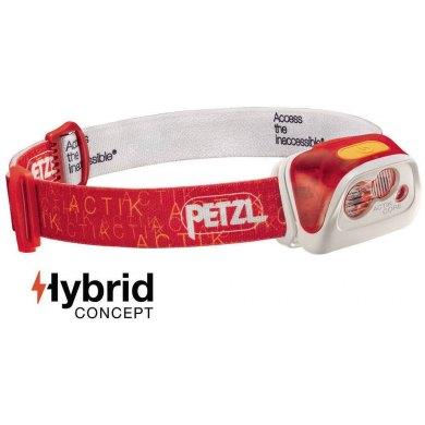 Linterna Frontal Recargable Petzl ACTIK CORE Rojo 350 lm - PETZL ACTIK CORE ROJO (1)