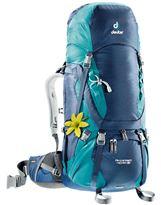Mochila de trekking Mujer Deuter AIRCONTACT 40+10 SL Midnight-Petrol