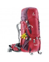 Mochila de trekking Mujer Deuter AIRCONTACT 40+10 SL Cranberry-Aubergine