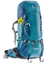 Mochila de trekking Mujer Deuter AIRCONTACT 60+10 SL Denim-Midnight