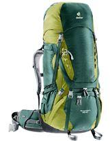 Mochila de trekking Deuter AIRCONTACT 65+10 Forest-Moss