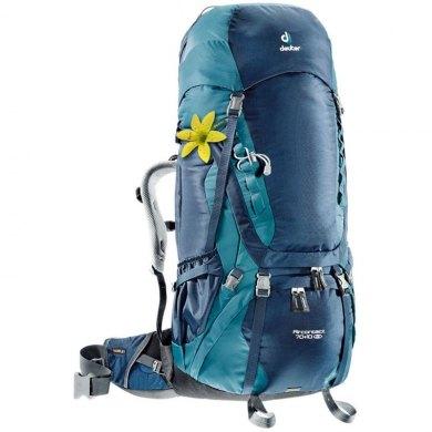 Mochila de trekking Mujer Deuter AIRCONTACT 70+10 SL Midnight-Denim - AIRCONTACT 70+10SL MIDNIGHT-DENIM