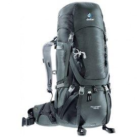 Mochila de trekking Deuter AIRCONTACT 45+10 Granite-Black
