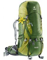 Mochila de trekking Mujer Deuter AIRCONTACT 50+10 SL Pine-Moss