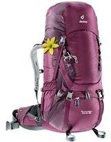 Mochila de trekking Mujer Deuter AIRCONTACT 50+10 SL Blackberry-Auberguine