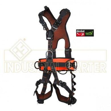 Arnes de Anclaje Dorsal-Frontal-Cinturon Akrobat AK650 EXCLUSIVO Stretch - AKROBAT 650