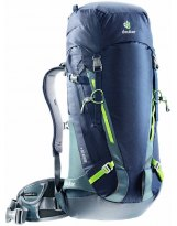 Mochila Alpinismo Deuter GUIDE 35+ Navy-Granite