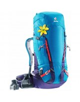 Mochila Alpinismo Mujer Deuter GUIDE 40+ SL Turquoise-Blueberry