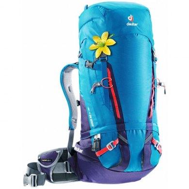 Mochila Alpinismo Mujer Deuter GUIDE 40+ SL Turquoise-Blueberry - GUIDE 40+ SL TURQUOISE-BLUEBERRY (1)