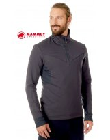 Jersey Hombre Mammut CRUISE ML HALF ZIP Phantom-Black