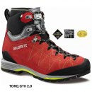 Botas de Alpinismo Dolomite TORQ GTX 2.0 Fiery Red-Green Shoot - DOLOMITE TORQ GTX 2-0 FIERY RED