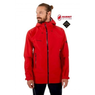 Chaqueta Gore-Tex Mammut CRATER HS HOODED Hombre Magma - MAMMUT CRATER HS HOODED MAGMA