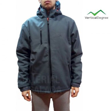 Chaqueta Tecnica Vertical Degree DAVOS Light Grey - VDE DAVOS LIGHT GREY (1)