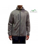 Chaqueta Polar Vertical Degree QUEBEC Man Light Grey