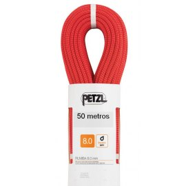 Cuerda de Escalada doble Petzl RUMBA 8 mm 50 metros