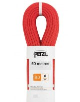 Cuerda de Escalada doble Petzl RUMBA 8 mm 50 metros