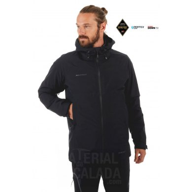 Chaqueta Tecnica Gore-Tex Mammut CONVEY 3 IN 1 HS Men Black - MAMMUT CONVEY 3 IN 1 HS BLACK (1)