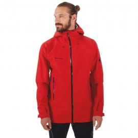 Chaqueta Gore-Tex Mammut CRATER HS HOODED Hombre Magma