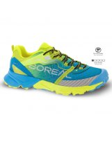 Zapatillas Trail Boreal SAURUS Blue Yellow